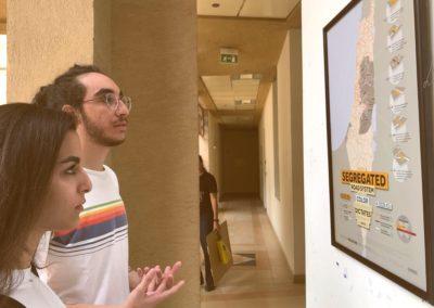 Egypt visualizing palestine event